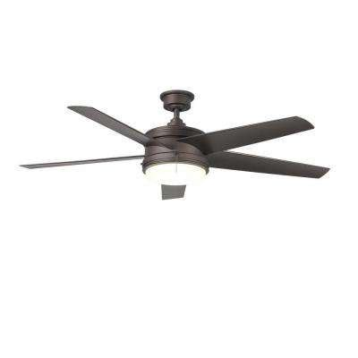 caicos 52 in bronze ceiling fan bronze ceiling fans lighting the home depot