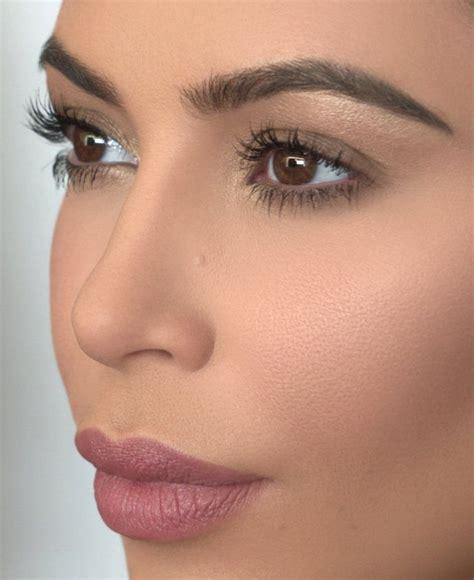 kim kardashian glam makeup best 20 kim kardashian eyebrows ideas on pinterest kim