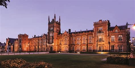 Qub Mba by S Belfast Study At A