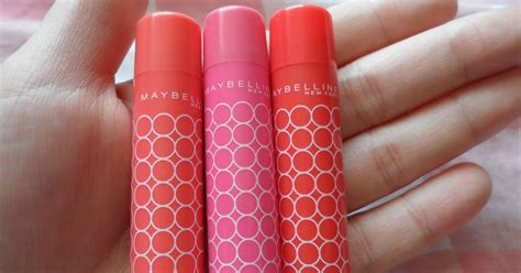Maybelline Lip Smooth Color Care the blackmentos box review maybelline lip smooth color care swatches
