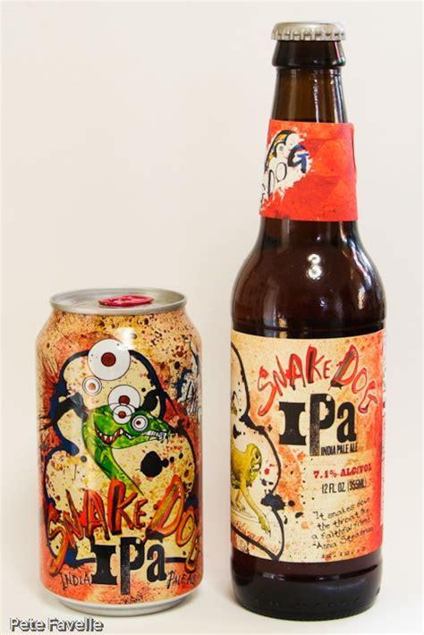 flying ipa pete drinks bottled vs canned flying snake ipa