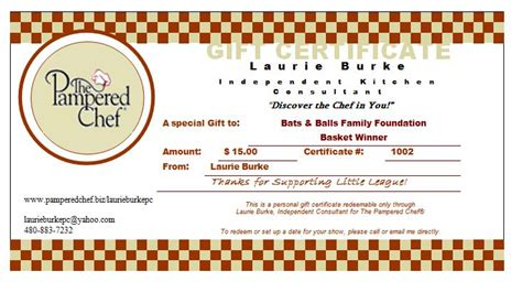 chef certificate template points to note of choosing best gift certificate