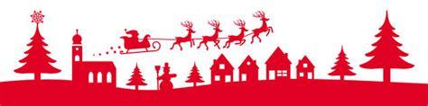 winter christmas banner red coloured  trees  festival