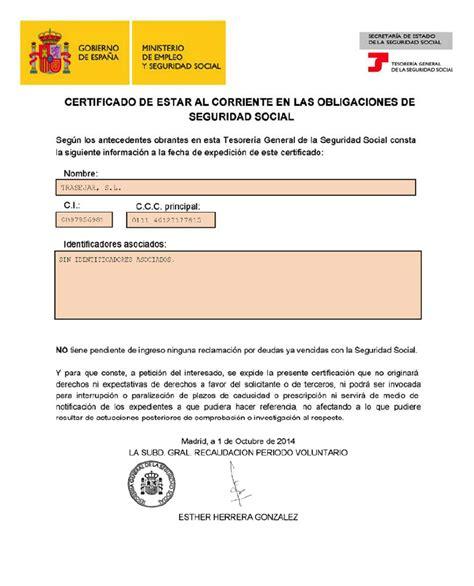 seguridad social respuestas actualicesecom certificado seguridad social trasejar