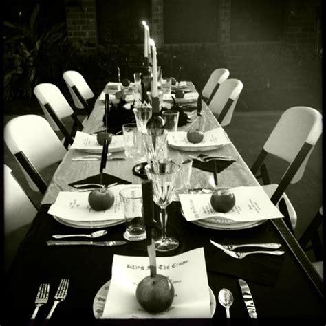 murder mystery dinner themes tablescape for murder mystery dinner