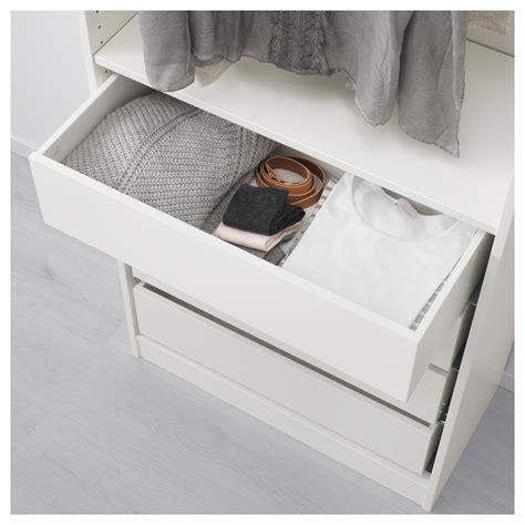 schublade pax komplement drawer white 75x35 cm ikea