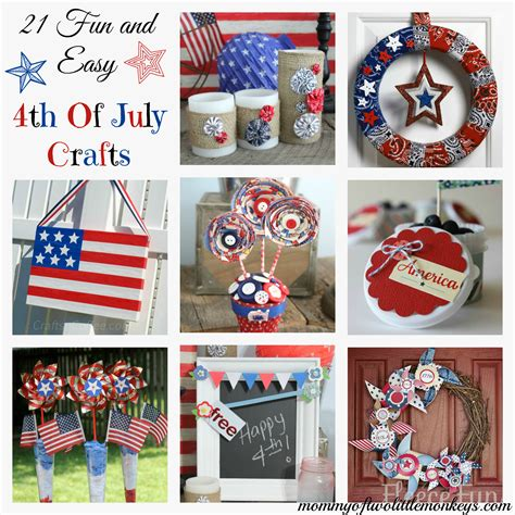 fourth of july crafts july 4th crafts easy and simple