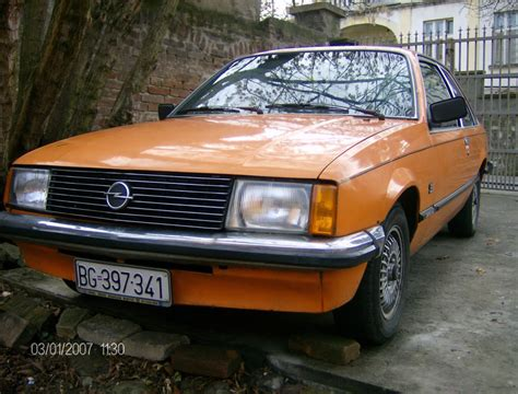 opel rekord 1980 1980 opel rekord photos informations articles