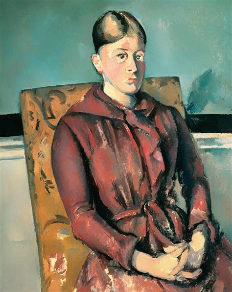 madame cezanne in a red armchair madame cezanne in a armchair 28 images madame cezanne