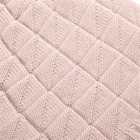 diamond shaped knitting pattern women knitted crochet baggy beanie caps diamond shaped