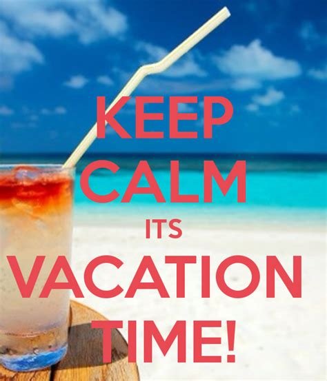 Its Vacation Time Quotes
