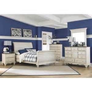 White Sleigh Bedroom Set 5 Pc Sleigh Bedroom Set In White Walmart