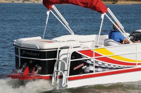 playcraft pontoon boats playcraft powertoon x treme 2700 i o pontoon deck boat