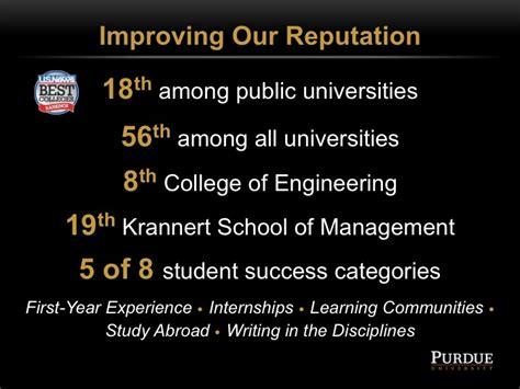 Purdue Krannert Mba Ranking by Trustees Presentation Aug 30 2010