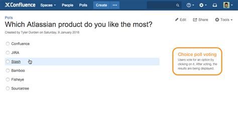 doodle poll security polls for confluence atlassian marketplace