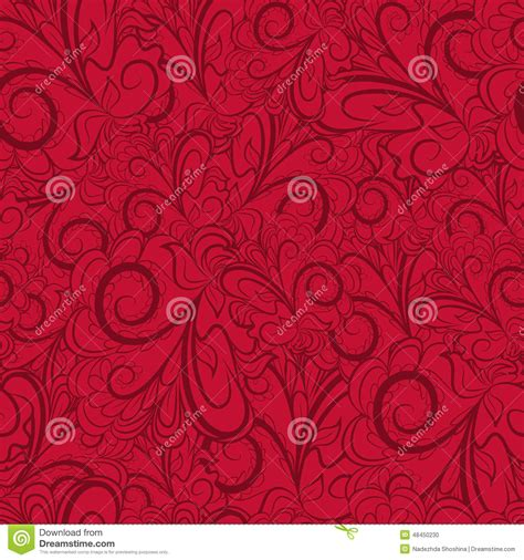 red pattern web seamless dark red pattern stock vector image 48450230
