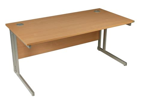 Beech Office Desk Beech Office Desk 800mm