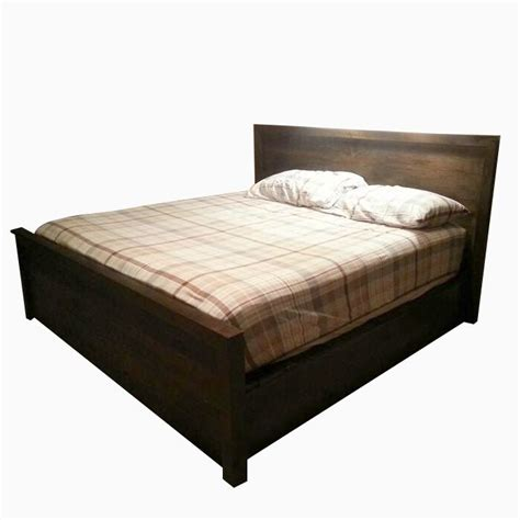 Custom Platform Bed Buy A Handmade Storage Platform Bed Made To Order From The Strong Oaks Woodshop Custommade