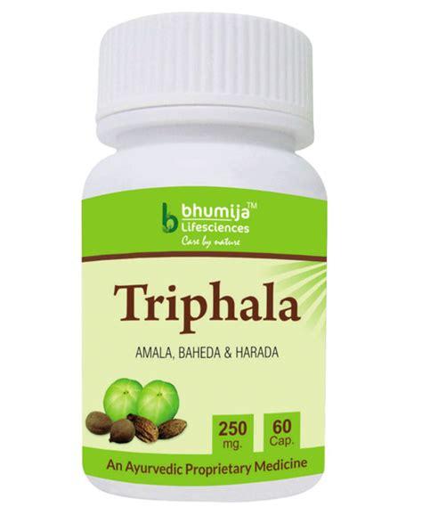 Triphala Detox Dosage by Triphala Side Effects