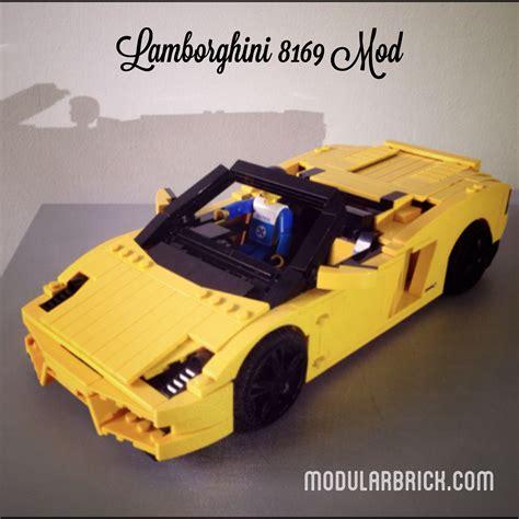 Lego Lamborghini Gallardo Lego Lamborghini Gallardo 8169 Mod Modular Brick