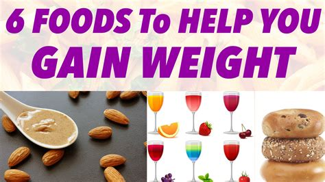 Richie Need Help On Weight Gain by 6 Foods To Help You Gain Weight