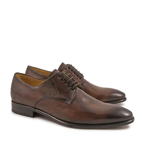 Handmade Shoes For handmade derby shoes for in leather leonardo