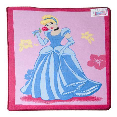 princess play rug disney pink cinderella princess rug antislip childrens play mat 95 x 133cm