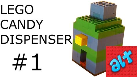 lego dispenser tutorial lego candy dispenser 1 easy with tutorial youtube