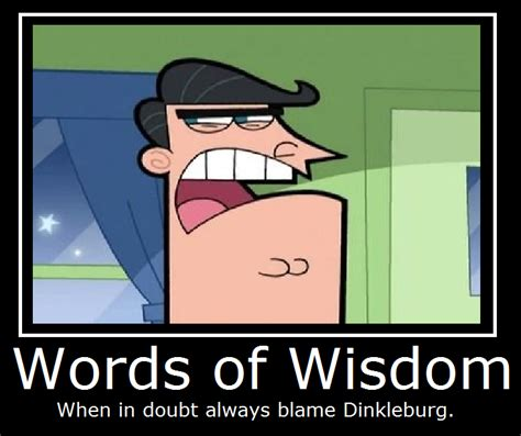 the fairly oddparents words of wisdom by