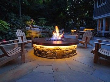 how to light a gas fire pit hand hammered copper gas fire pit with led lighting and