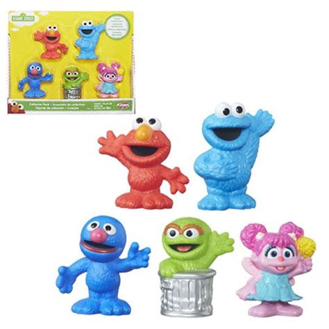 figure 5 pack sesame collector figure 5 pack hasbro sesame