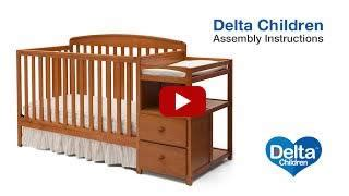 Delta Summit Crib by Nursery Furniture Assembly Delta Children S Products