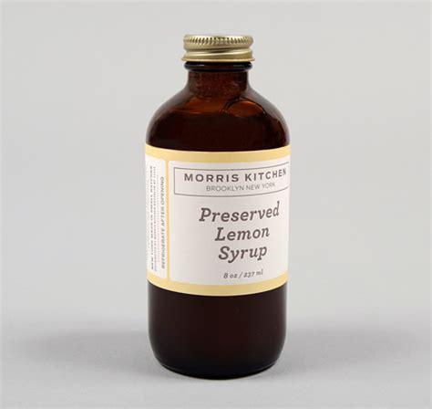 morris kitchen syrup made preserved lemon syrup 8 oz bottle hickoree s