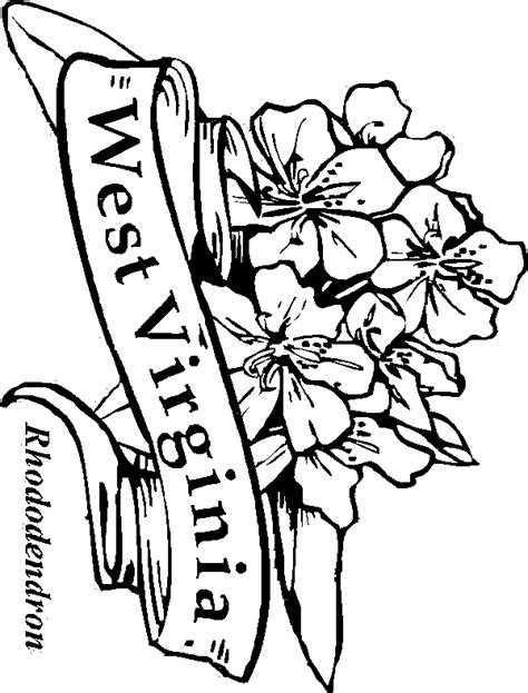 coloring pages virginia free coloring pages of flag of west virginia
