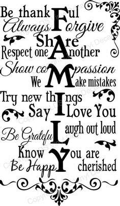 printable quotes family free printable house rules family rules free