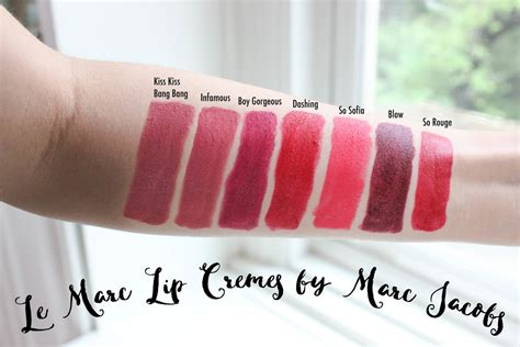 Marc Le Marc Lip Creme Lipstick In marc le marc lip creme swatches