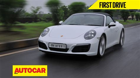 porsche india 2016 porsche 911 carerra s india review autocar india