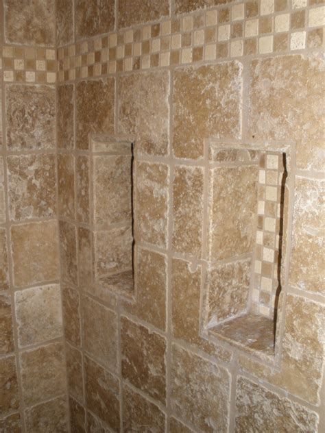 Built In Shower dishes amp niches jtl tile