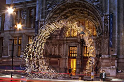 design love fest london al a arup timber wave installation at the london