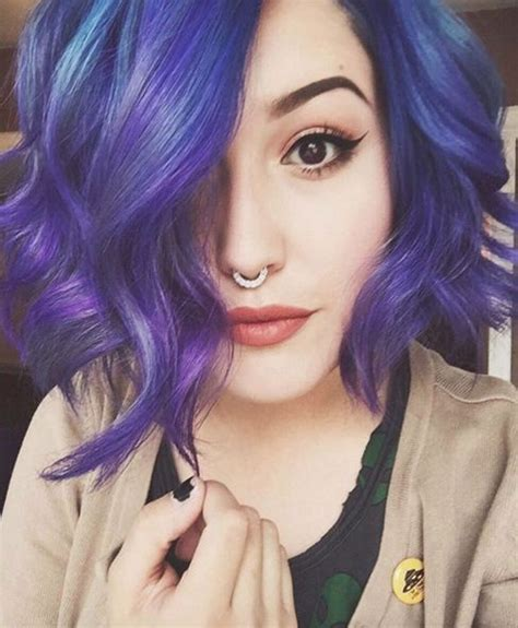dyed bob hairstyles 1537 best crazy cool hair colors images on pinterest