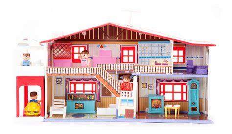 doll house setting buy my deluxe doll house 50 piece play set online in india kheliya toys