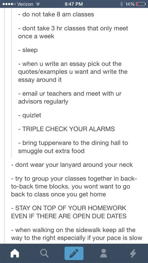 how to organize your college life in less than 30 minutes college