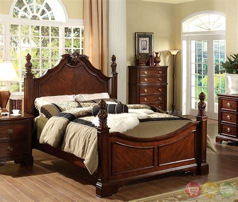 carlsbad i formal cherry bedroom set with ornamental