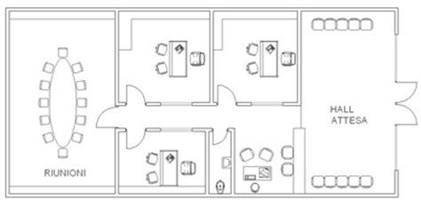 piantina ufficio schemi ufficio 2d