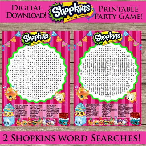 birthday gifts for word search puzzle book gift as birthday gifts for boyfriend or husband books shopkins printable word search digital by clipart911