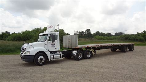 flat bed truck flatbed trailer service doc s trucking inc