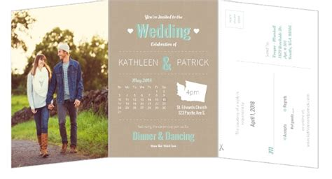 wedding invitation mailing timeline story journey timeline 5x7 wedding invitation