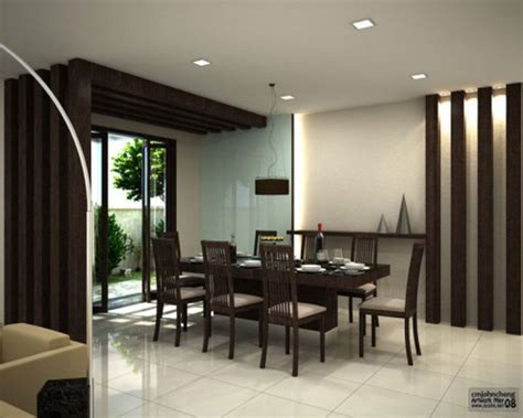 Modern White Dining Room Furniture Remarkable Large Dining Room Interior Design Modern Dining Room Black And White