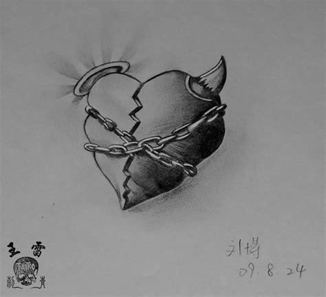 broken heart tattoo designs free designs broken flash