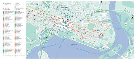 printable map perth city perth city map australia my blog
